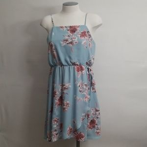 NWT Sienna Sky Sleeveless Floral Sundress